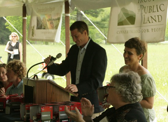 Speaking At The Groundbreaking