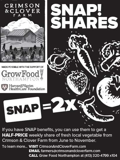 Half-price Farm Shares For SNAP Participants!