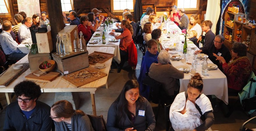 Fun at our Farm to Table Dinner!