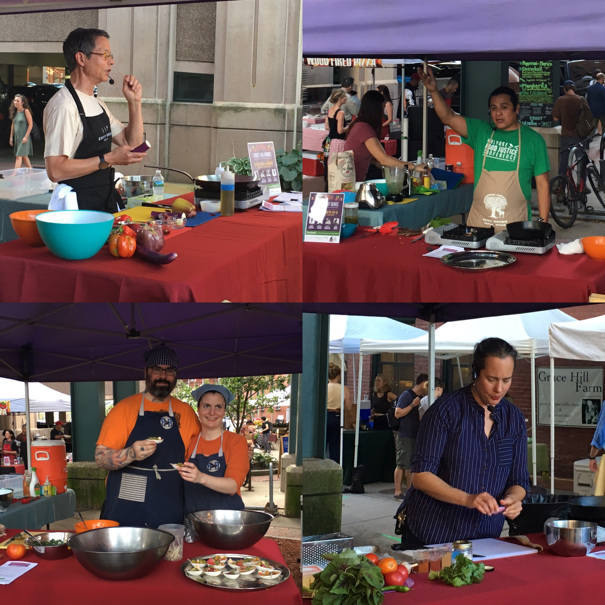 2018 Tuesday Market Summer Chef Series Highlights