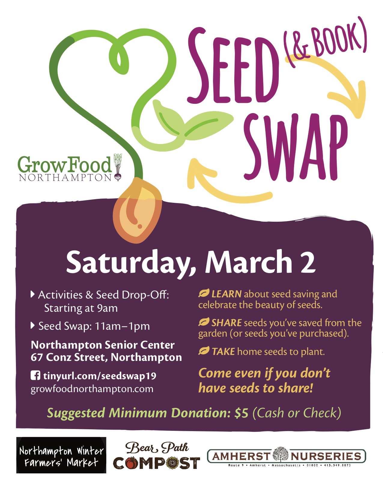 2019 Seed Swap, March 2