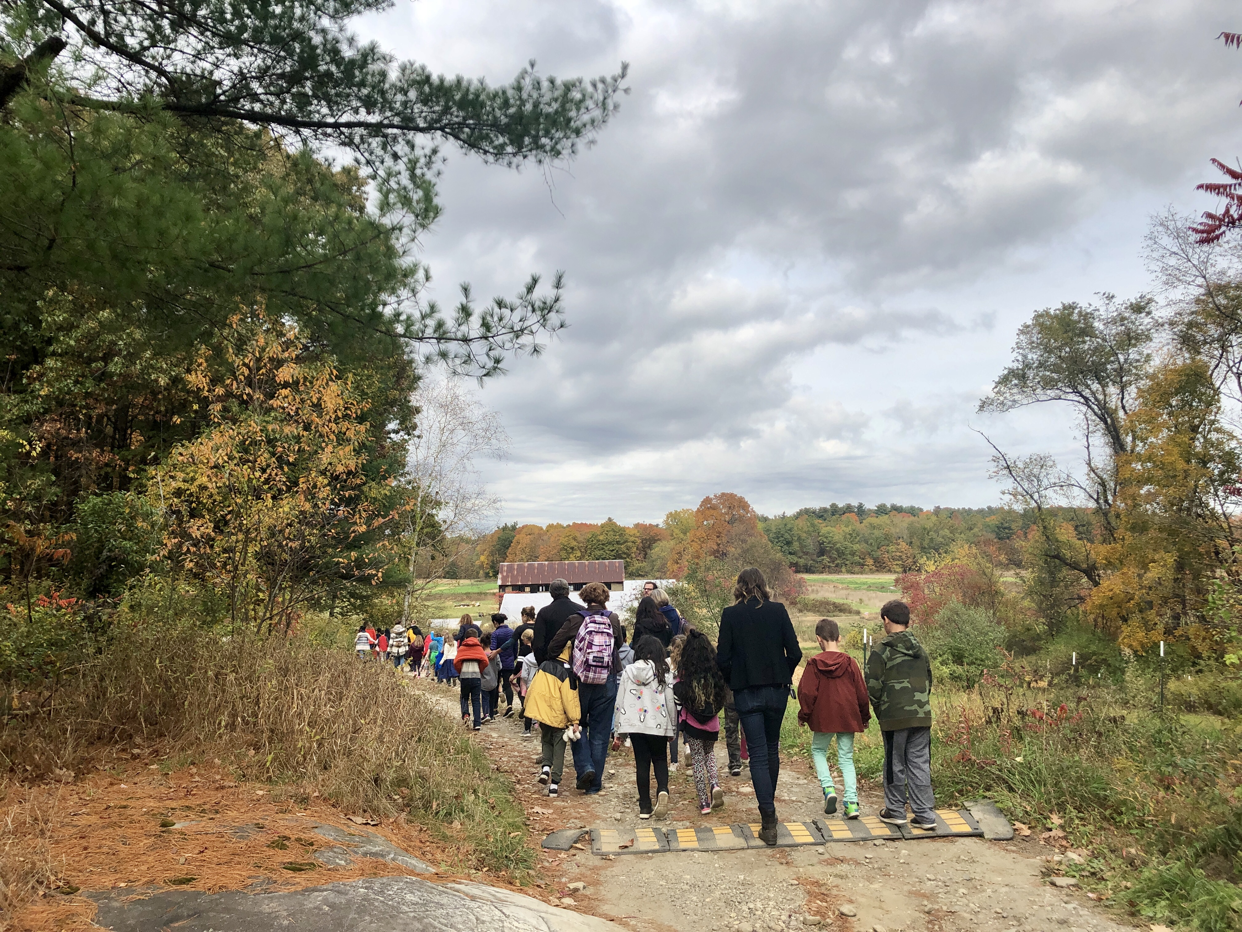 Farm To Market: Fall Field Trips Making Connections