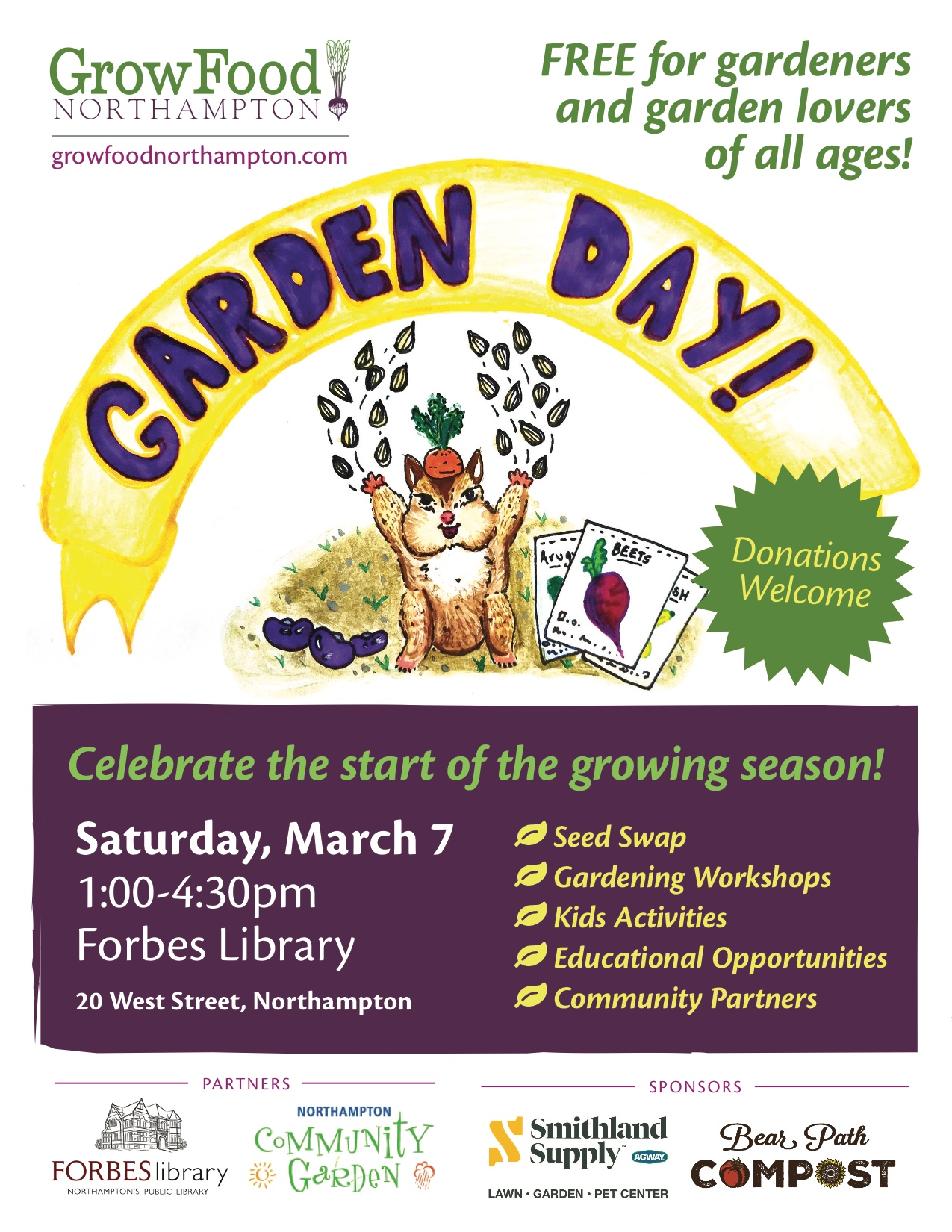 March 7, 2020: Celebrate The Start Of The Growing Season At Garden Day!